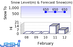 Altenmarkt Snow Forecast